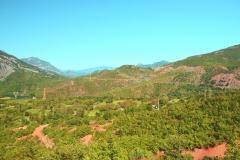 Cesta na Koman, Albánie