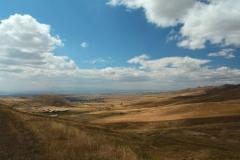 Arménské výhledy nedaleko Gjumri