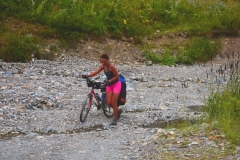 Cesta přes potok, Svanetie