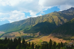 Cestou do Mestie, Svanetie