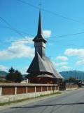 Dřevěný kostelík v pohoří Maramureš