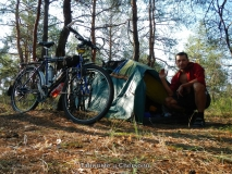 Nejhezčí tábořiště u Chersonu
