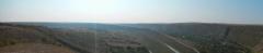 V kaňonu řeky Raut u Orhej Vechi, Moldávie